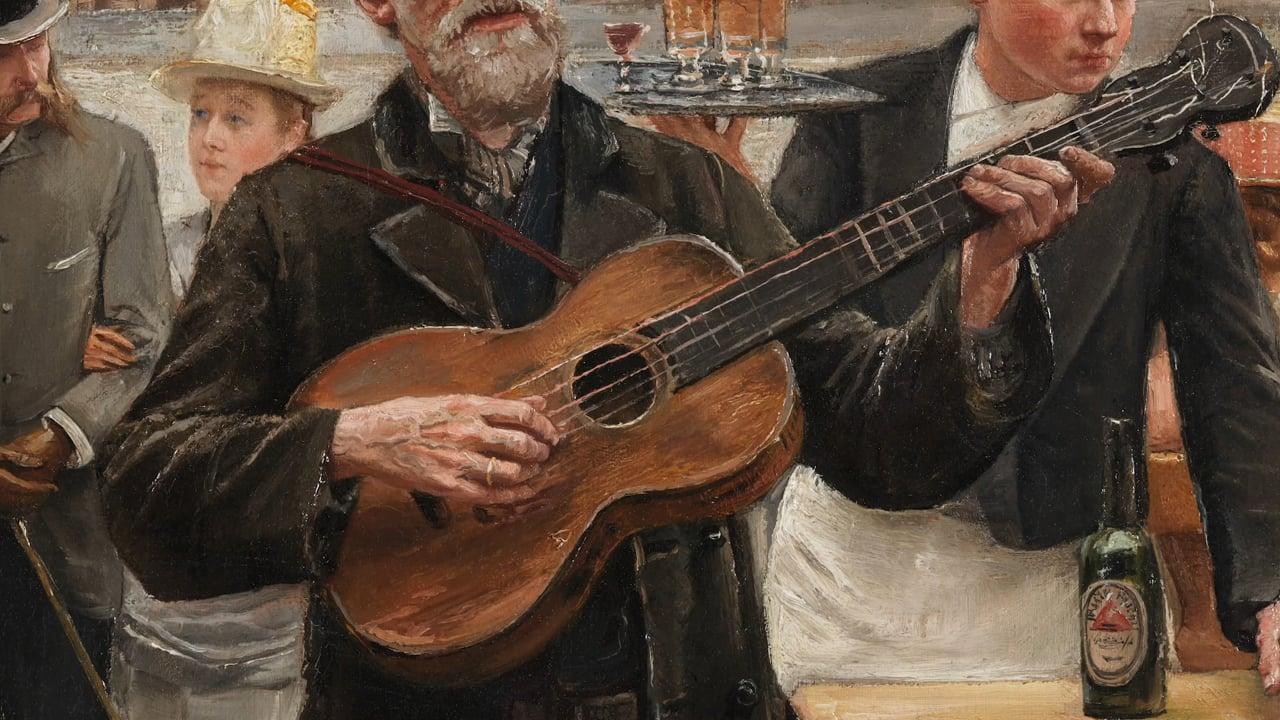 AG CIA - Museum Vleeshuis - 19de eeuwse gitaar