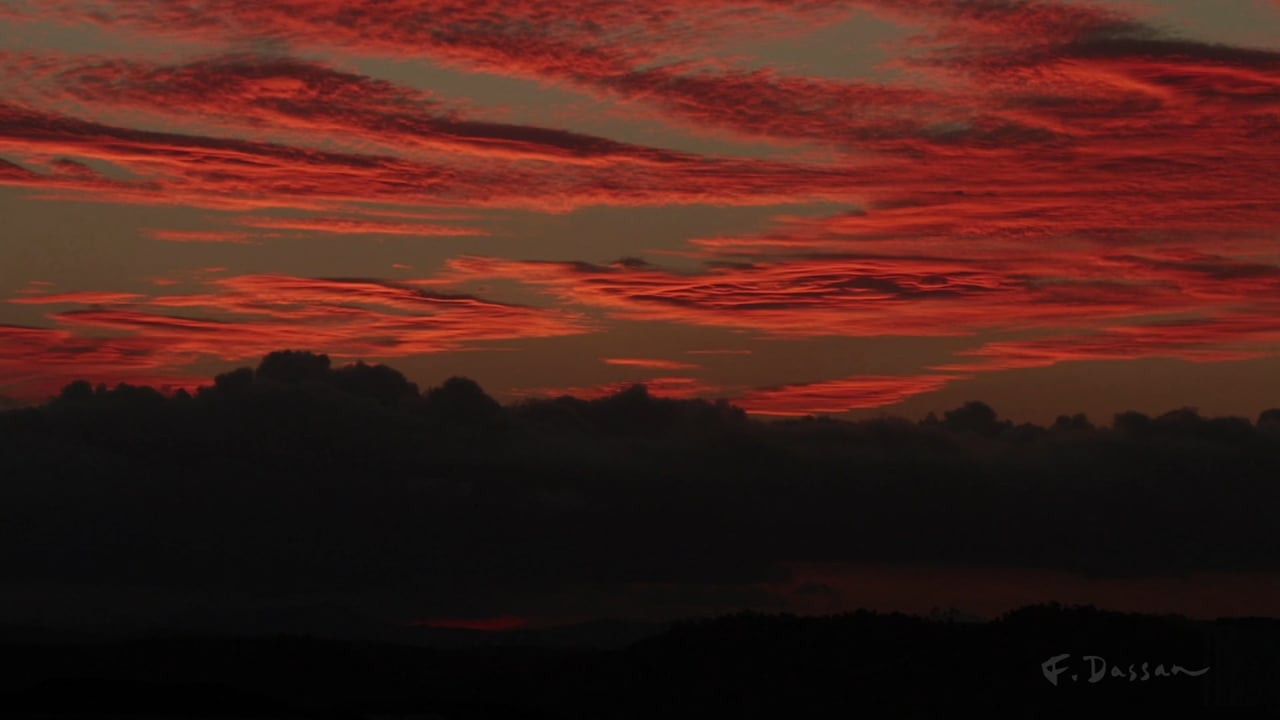 Sunset - Monday, 5 April 2021