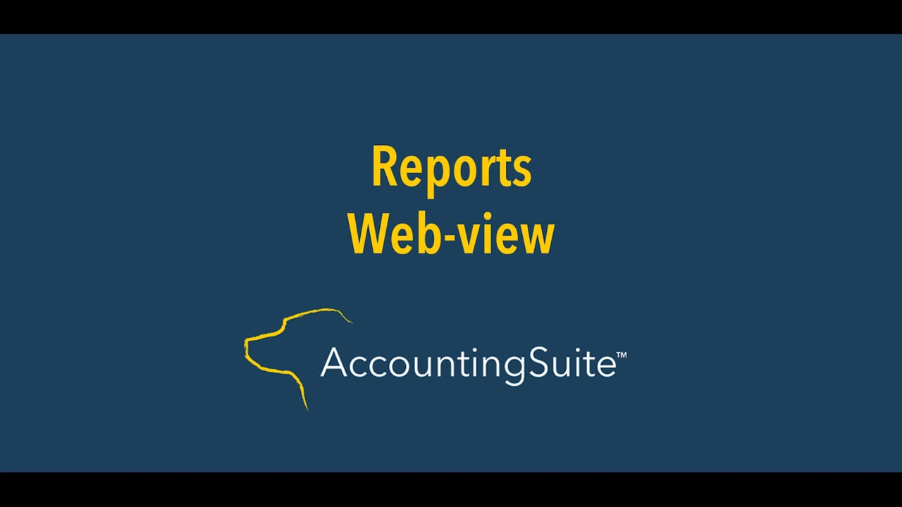 web view reports