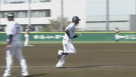 【ファーム】ライオンズ・西川 先頭打者ホームランですぐさま反撃!! 2021/4/8 L-F(ファーム)