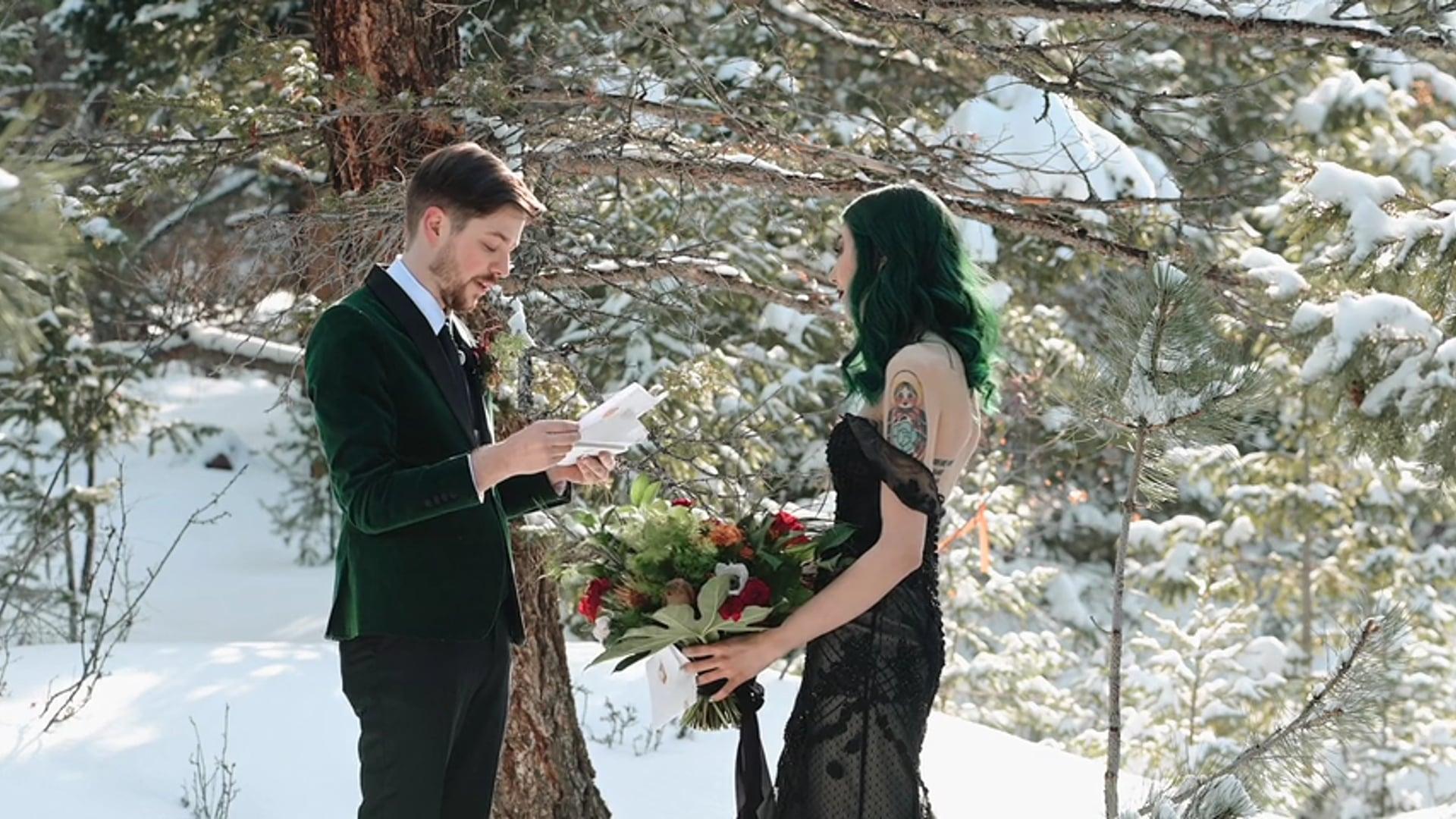 Palmer Lake Wedding Ceremony - Josh & Ash