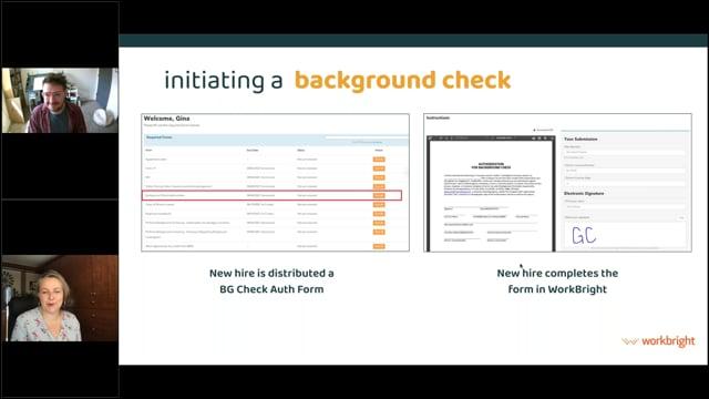 Background Checks 101 Video Webinar Event