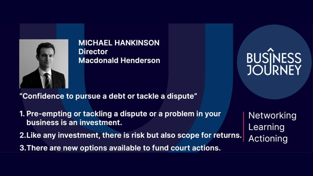 Michael Hankinson Trailer for 23 April Business Journey