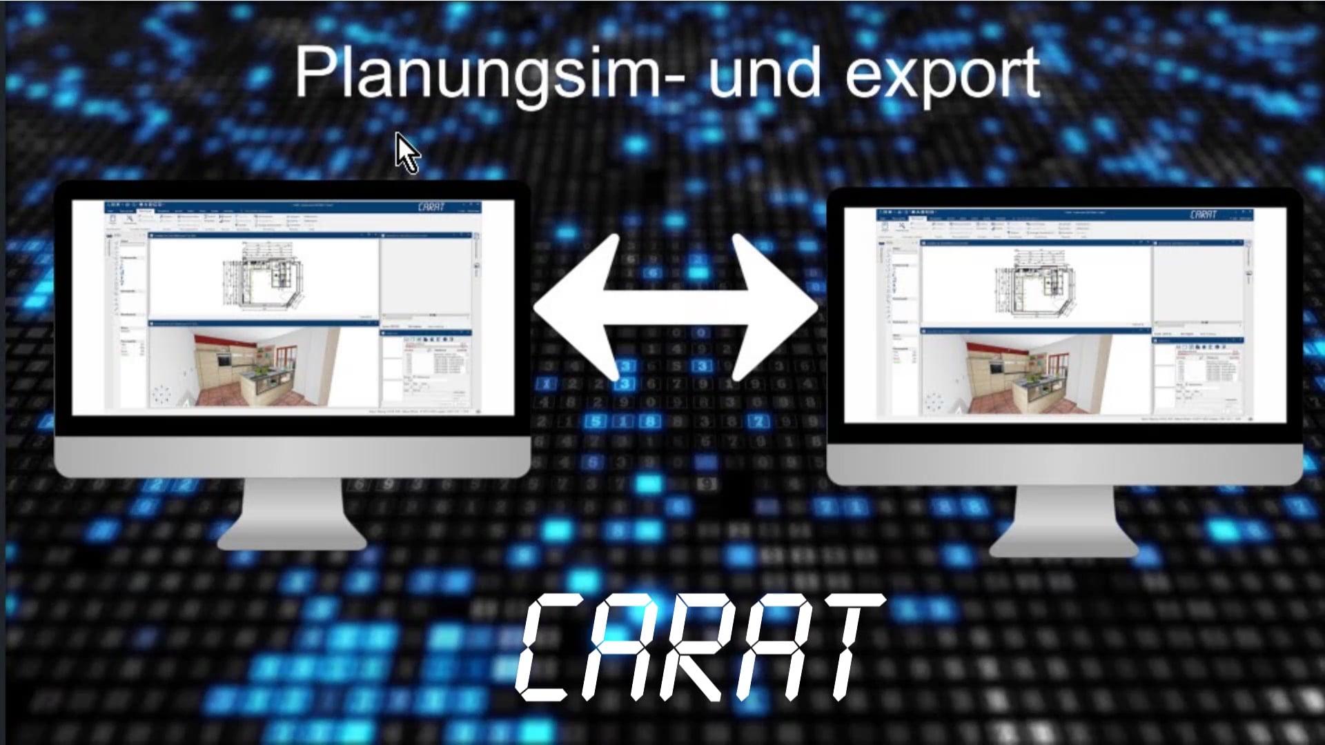 Planungen importieren und exportieren