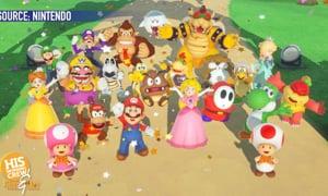 Let's-a Go! Angela's Son LOVES Mario!