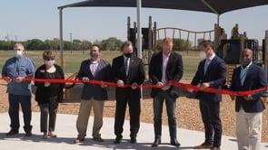 Ribbon Cutting of Trail Blazer Park Upgrades