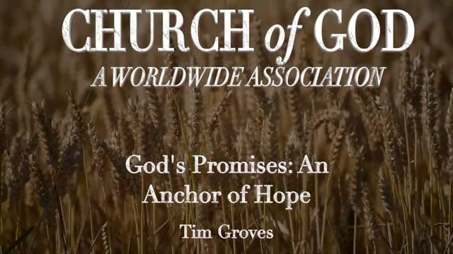 God's Promises: An Anchor of Hope