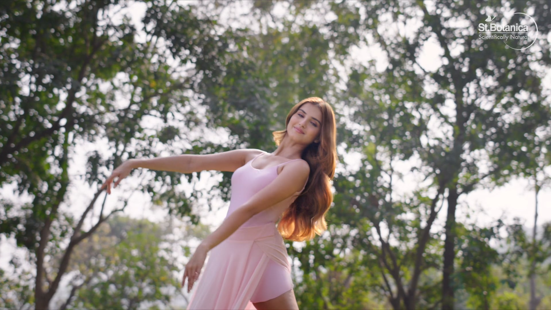 St Botanica Hair Film With Tara Sutaria