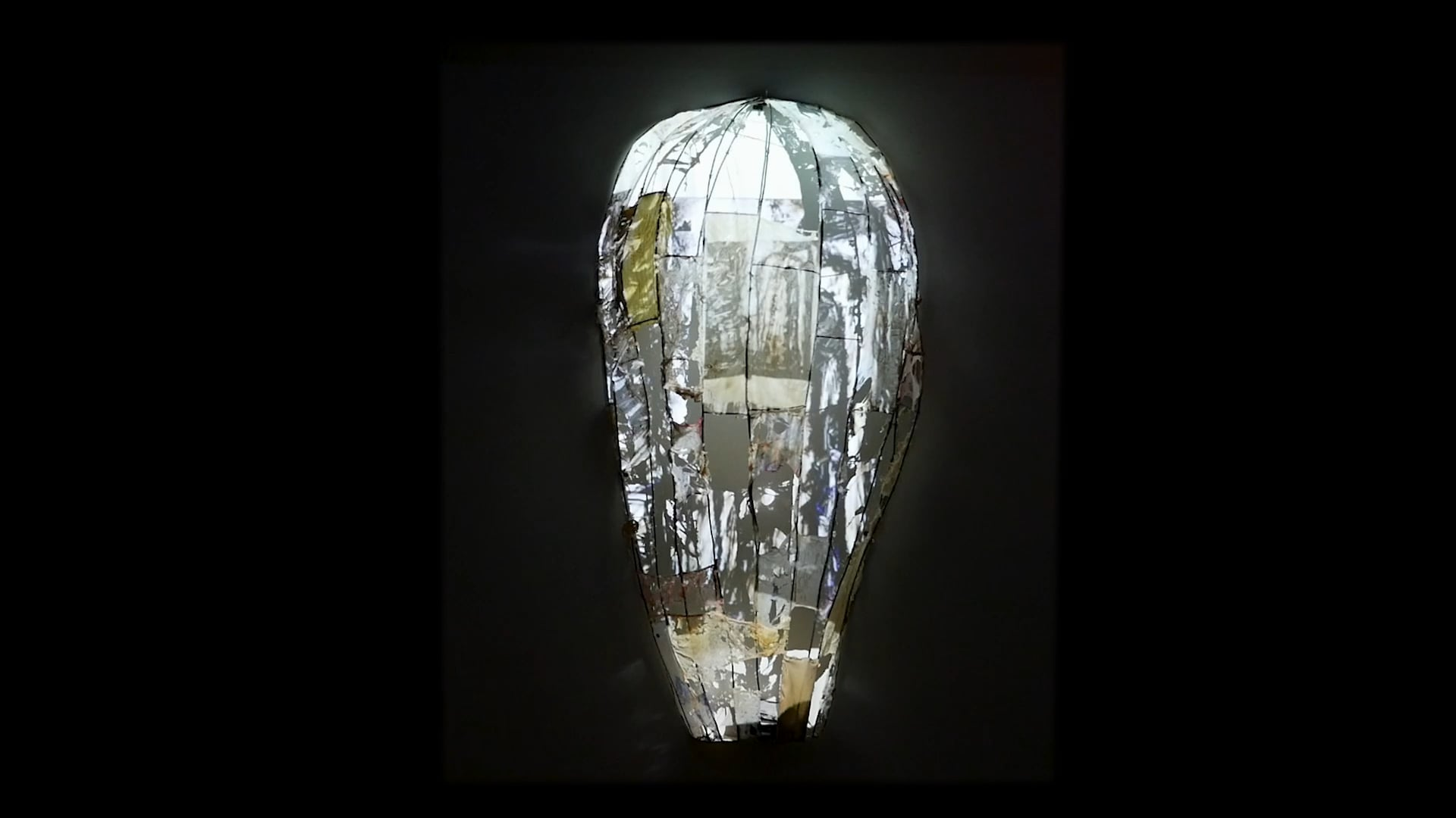 Metal, Latex, Thread, Copper wire, video with sound. 2021,