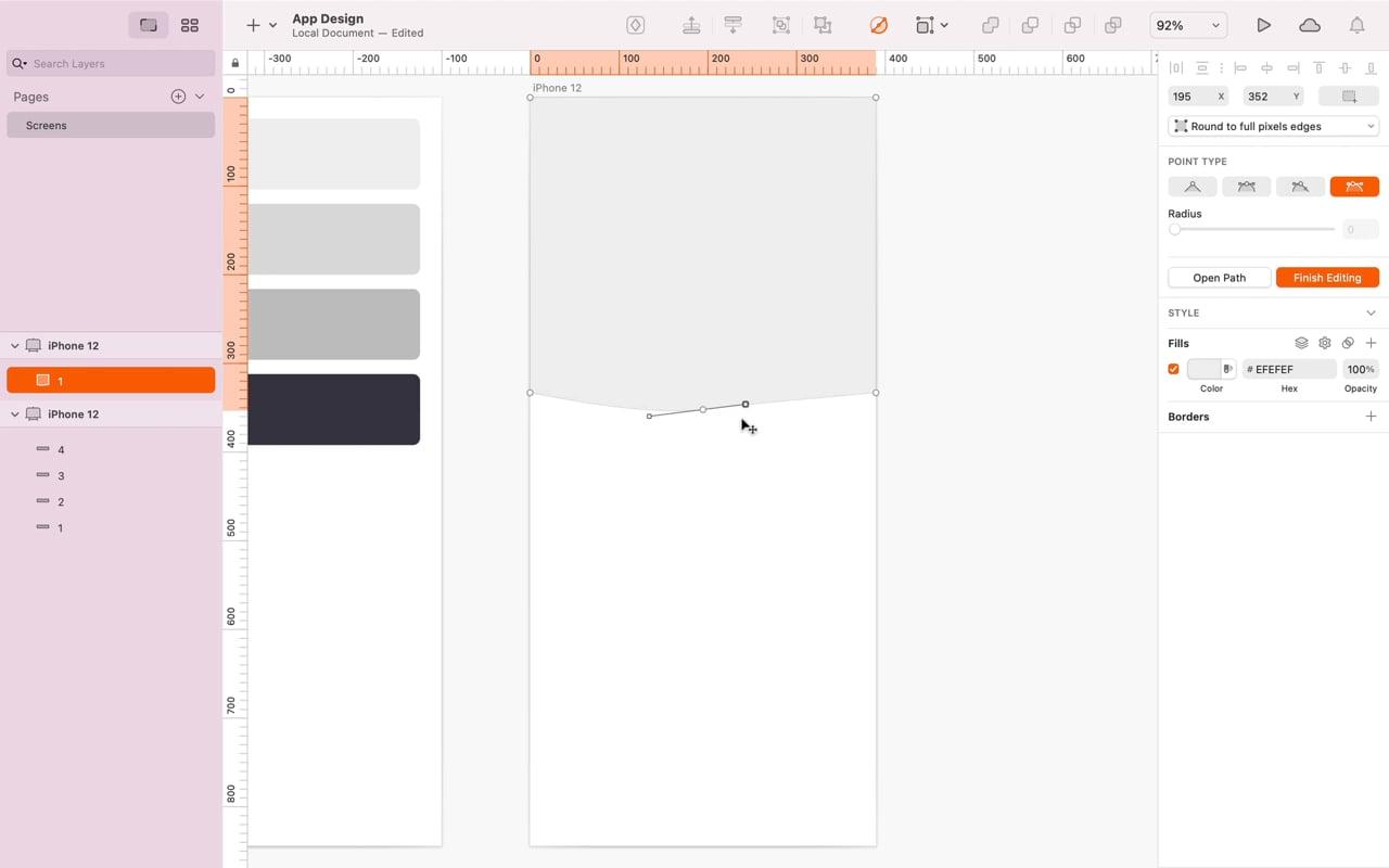 Editing Shapes