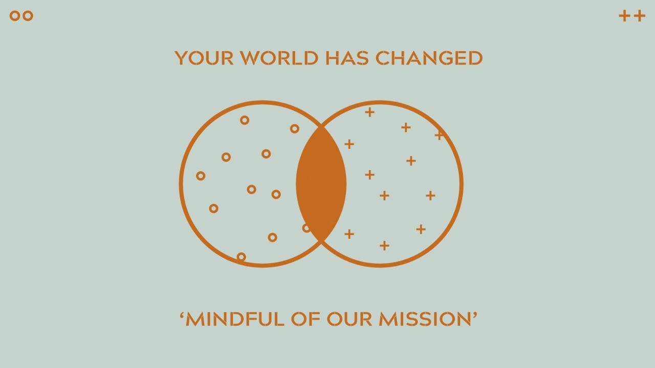 the world has changed - mindful of the mission .mov