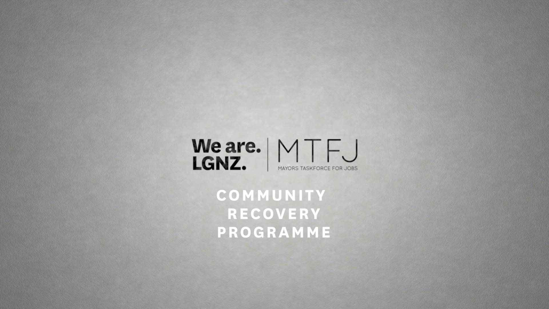 MTFJ's Community Recovery Programme
