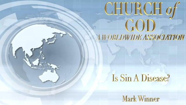 Is Sin A Disease?