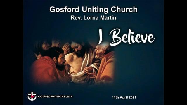 11th April 2021 - Rev Lorna Martin