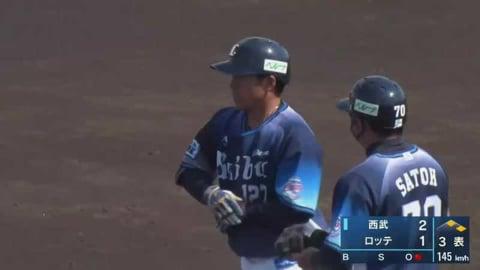 【ファーム】ライオンズ・中熊 2試合連続のタイムリーヒット!!