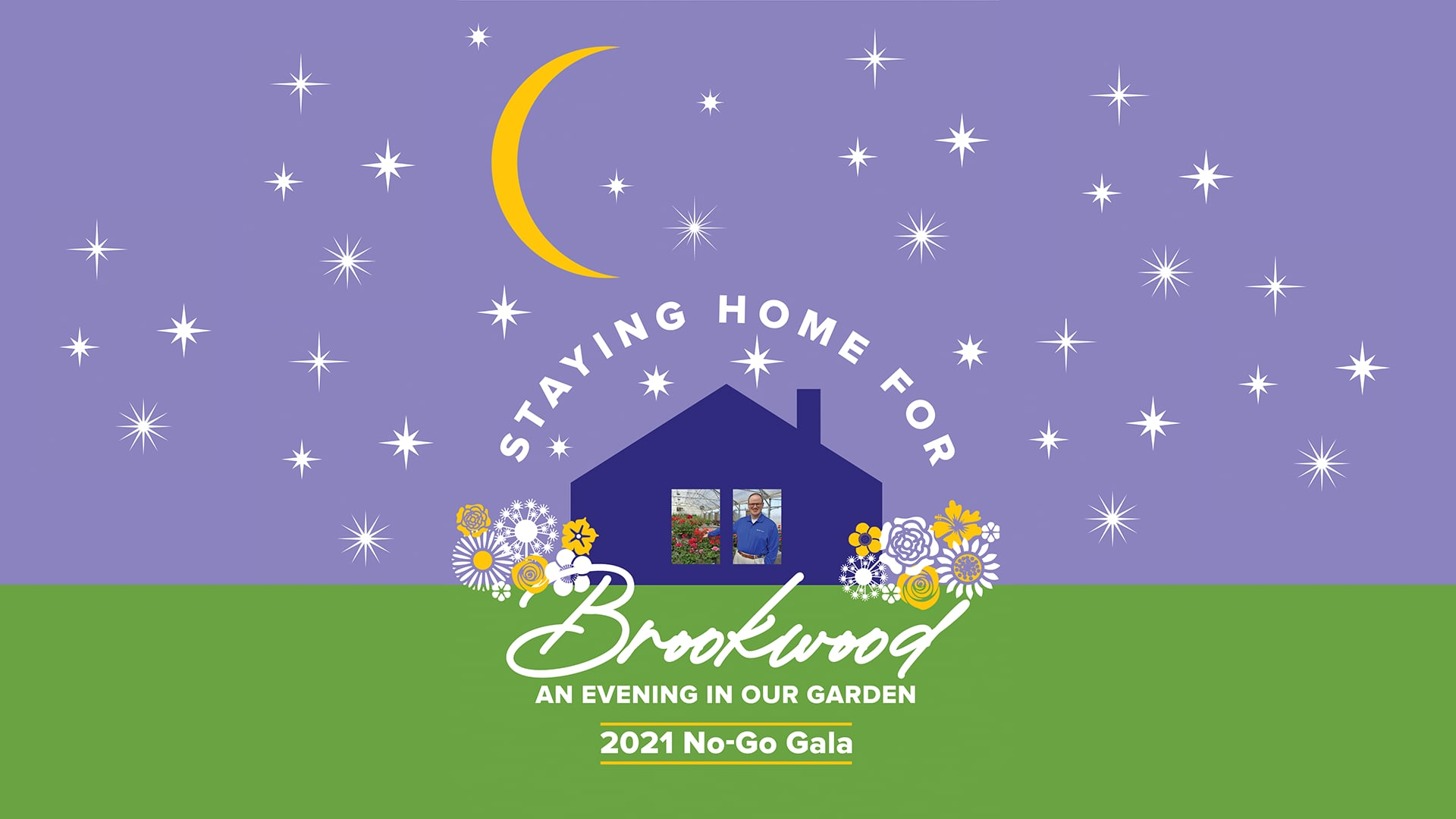 An Evening in our Garden - Staying Home for Brookwood No-Go Gala
