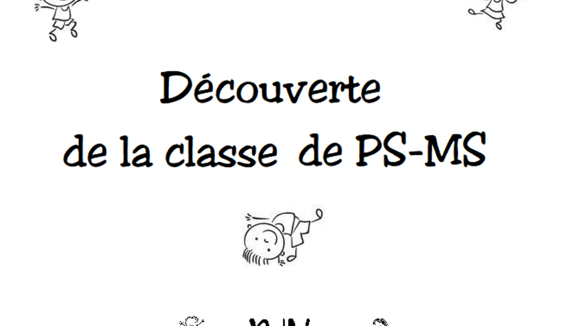 Classe de PS MS - NDV Plouescat