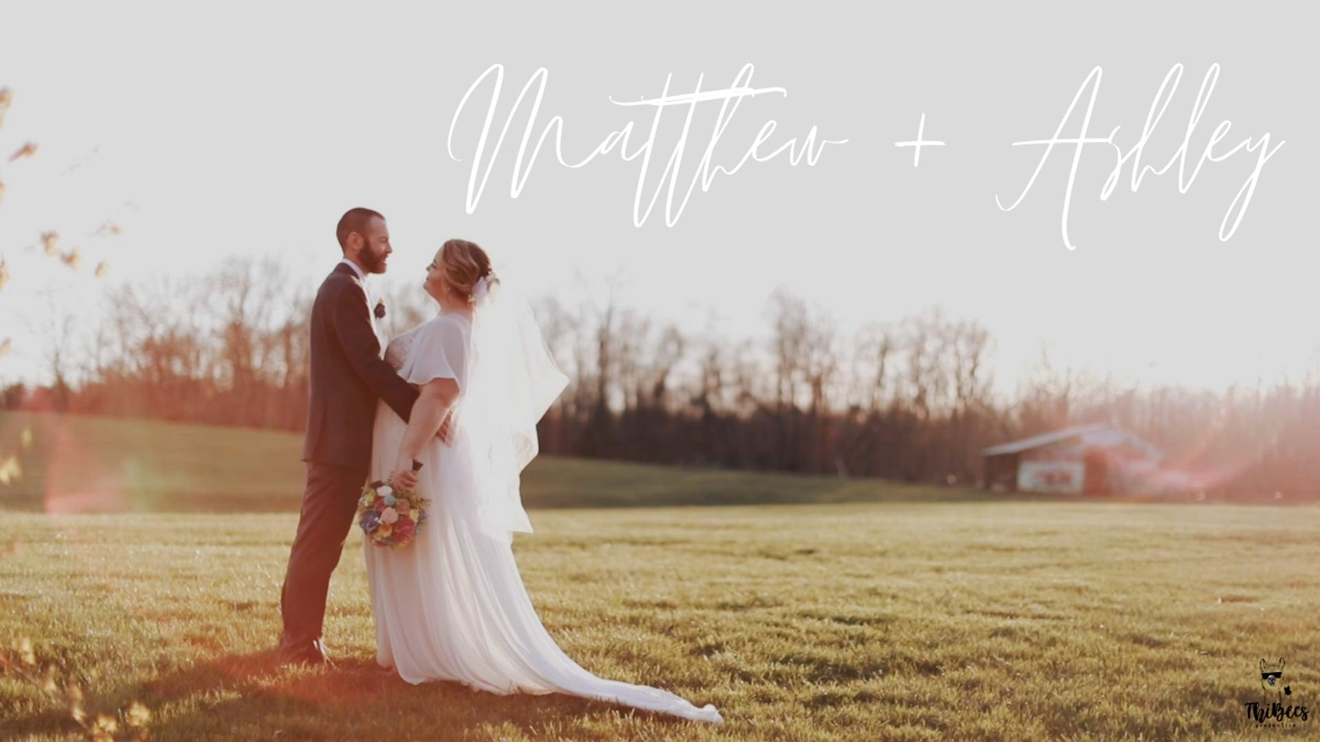 Ashley + Matthew Highlight Video | Palmyra, VA