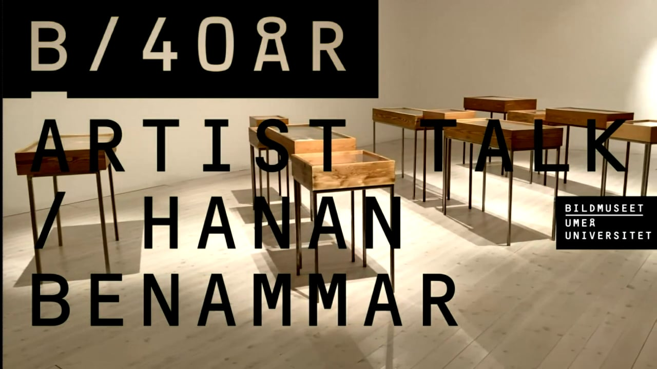 Film: Artist Talk with Hanan Benammar