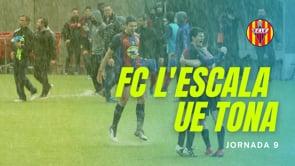 Resum FC l'Escala 1 - 0 UE Tona