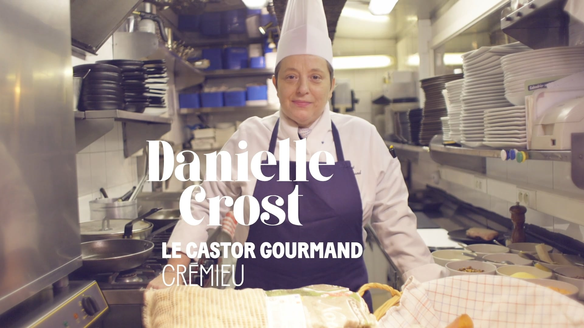 Et Toque! avec Danielle Crost, le Castor Gourmand, Crémieu - Commission européenne
