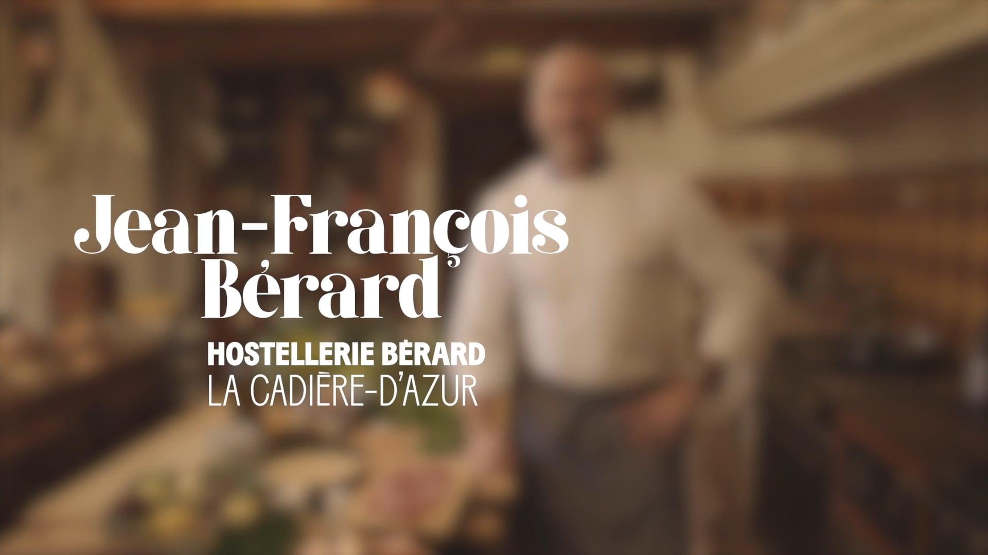 Et Toque! avec Jean-François Bérard, Hostellerie Bérard, La Cadière-dAzur - Commission européenne