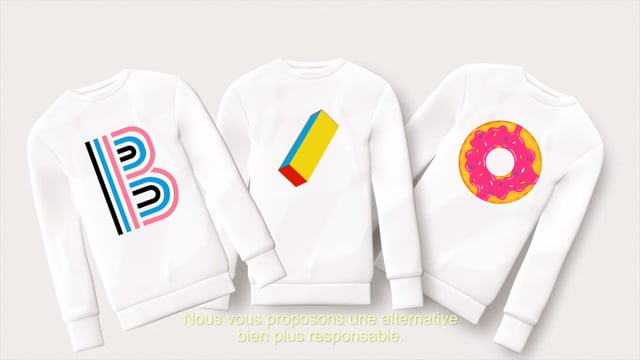 Voix Off • Voice Talent David Joppart - Honest Sweaters (Motion Design)