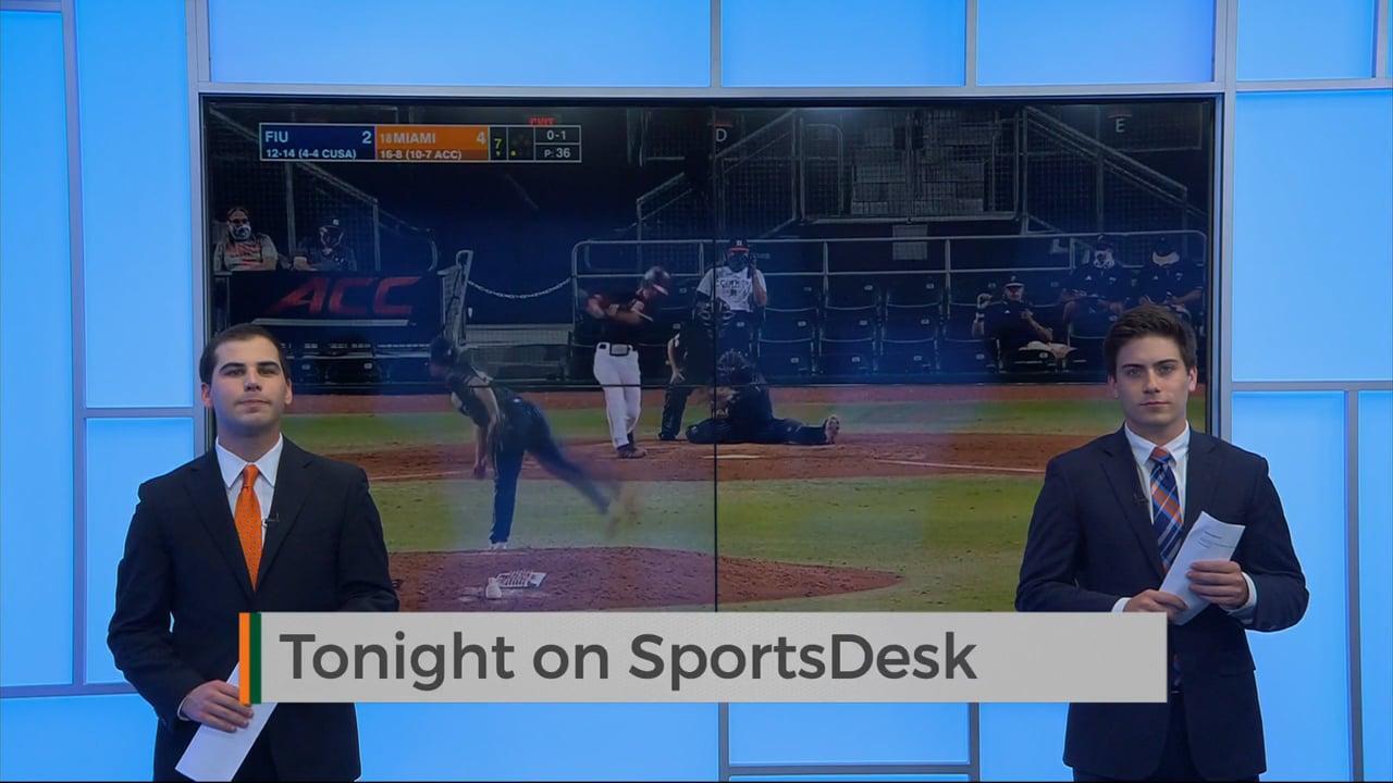 SportsDesk @ 7pm   April 9, 2021   UMTV Live