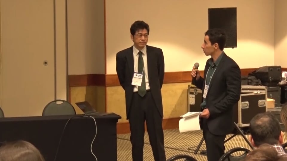 Prof. Shigeo Hosokawa, Kobe University, Spatial filter velocimetry