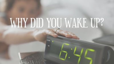Day 28 - Why Did You Wake Up