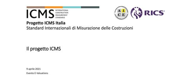 Costi di Costruzione e altri Costi del Ciclo di Vita - Standard Internazionali ICMS in Italiano