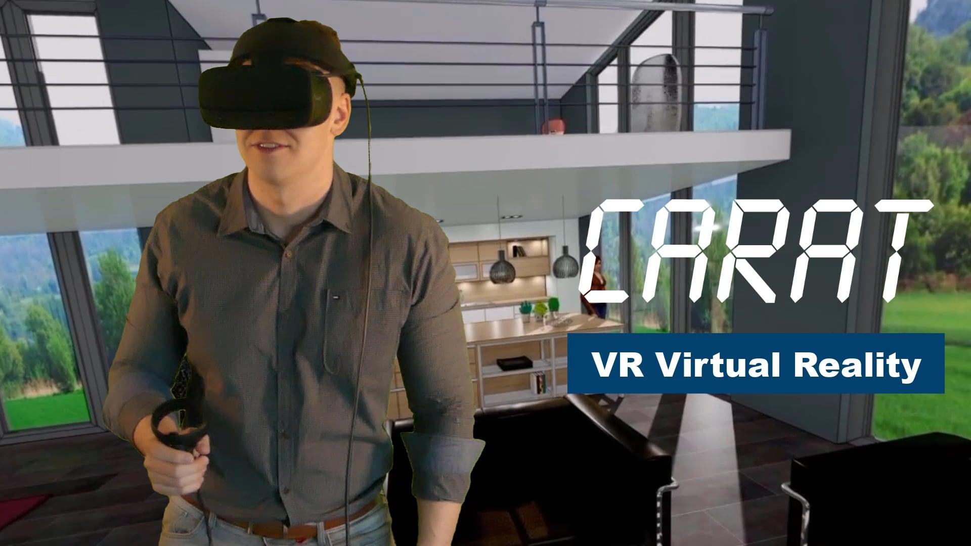 CARAT Virtual Reality Brille 2021