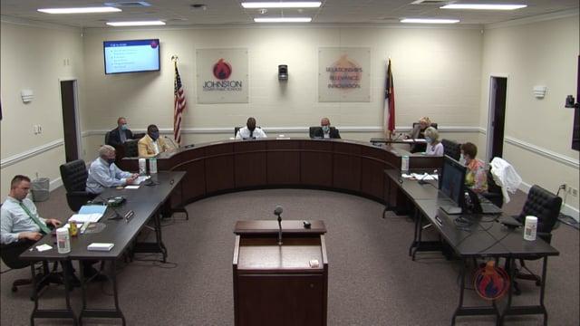 JC Board of Education Meeting April 2021