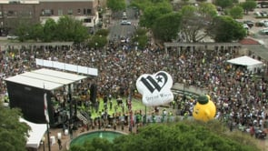Highlights from the Baylor Men's Basketball National Championship Parade