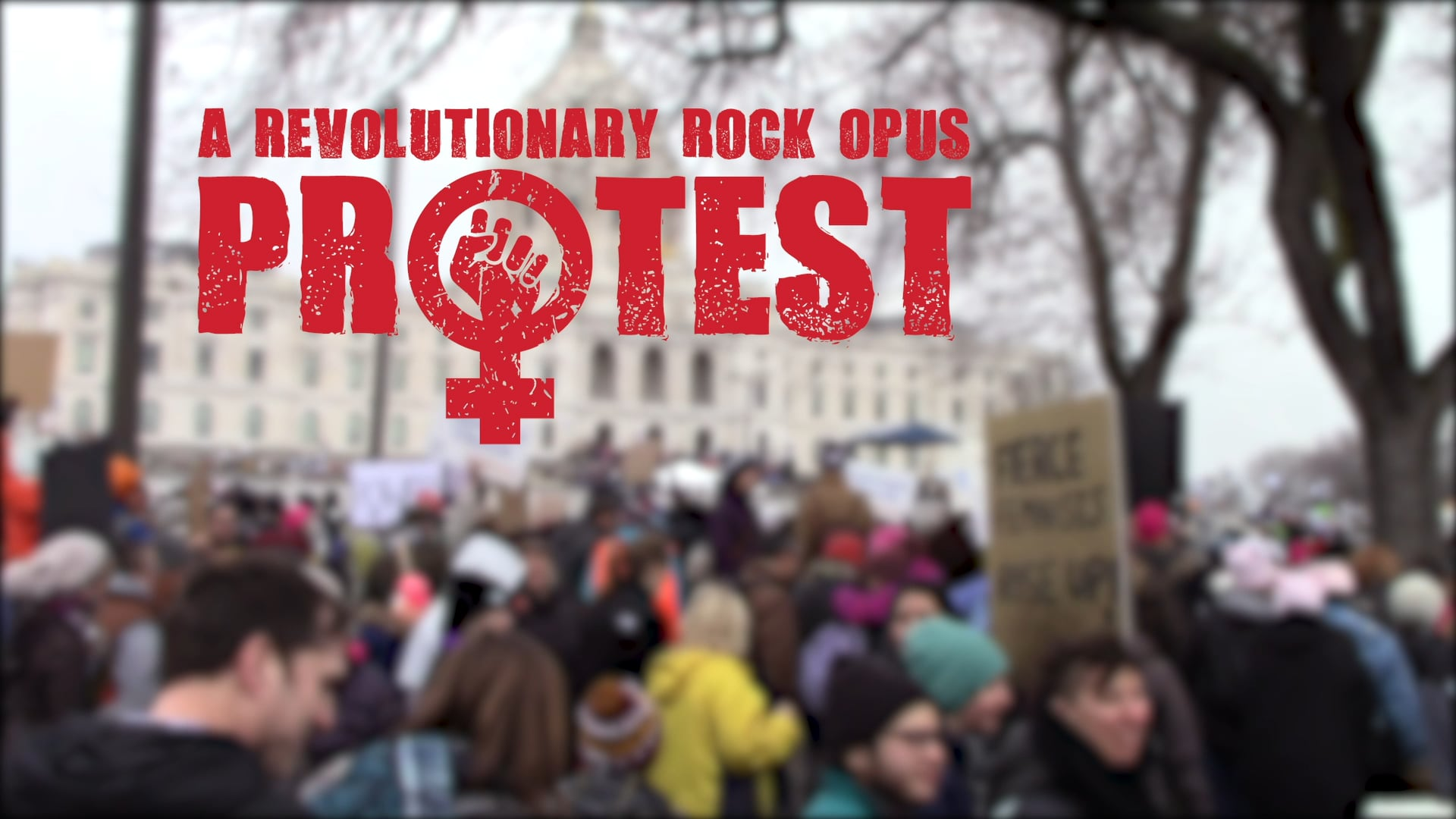 """""""We Are One"""" Ashley DuBose from PROTEST: A Revolutionary Rock Opus"""