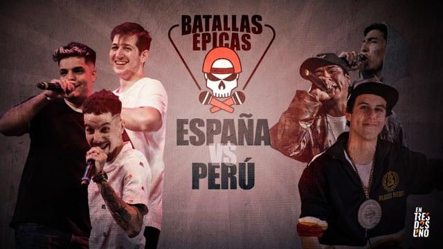 Batallas Épicas - Godlevel 2019 España vs Perú