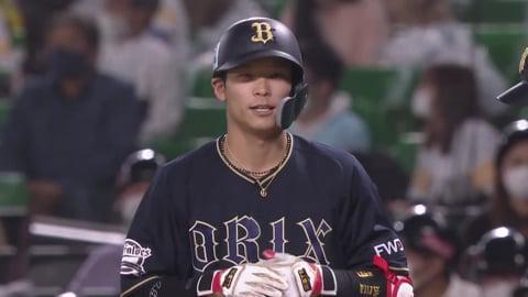 【5回表】均衡破れる!! バファローズ・中川圭のタイムリー内野安打!! 2021/4/15 H-B