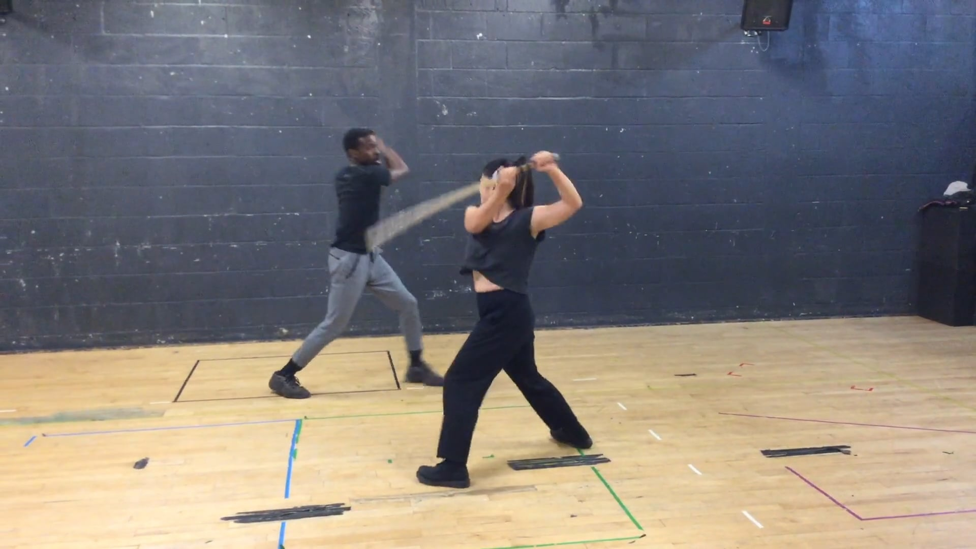 Christine Fang - Stage Combat Reel