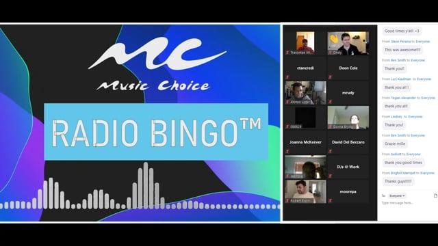 Highlights: Music Choice Radio Bingo with DJs at Work