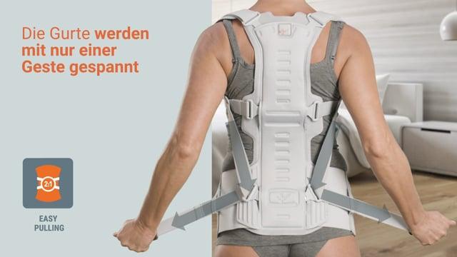 Spinalplus 2.0 - Rückenorthese bei Osteoporose
