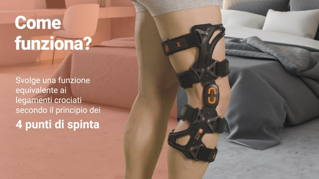 Pluspoint 4 - Ortesi funzionale per ginocchio