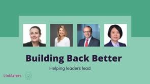 Helping leaders lead