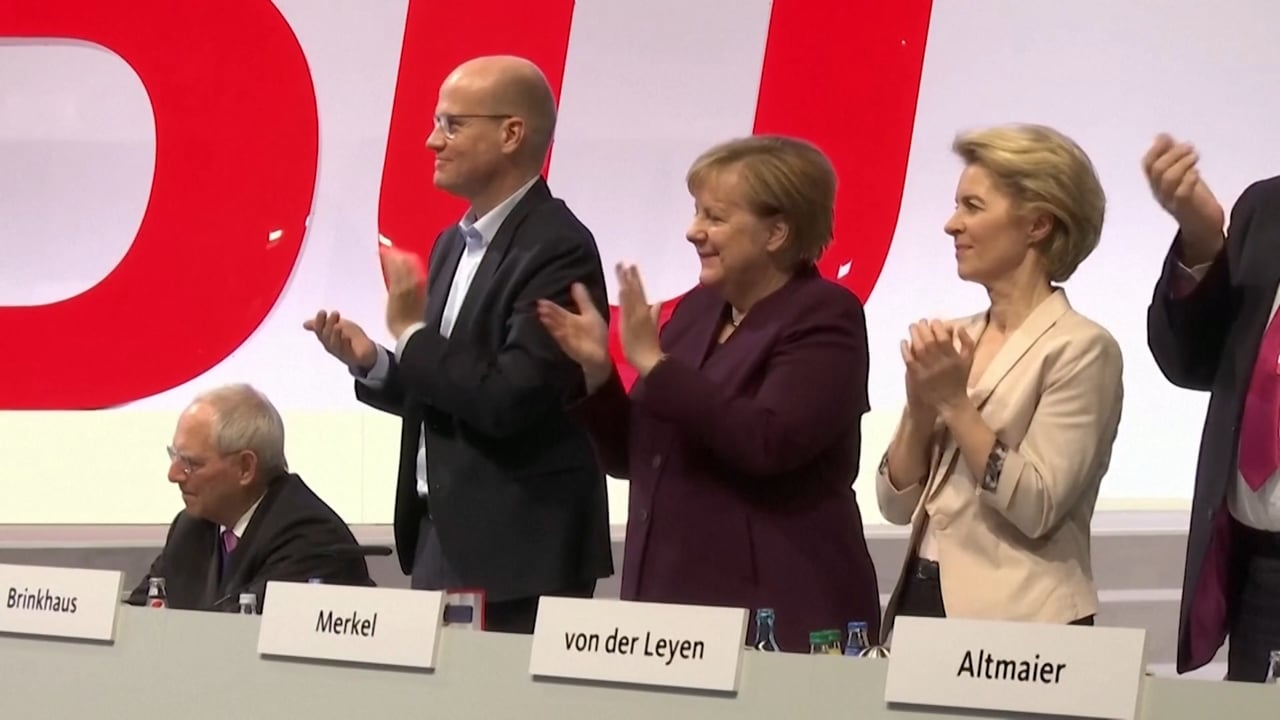 CGTN 2019  - Life after Merkel: The Race for the Leadership of the CDU