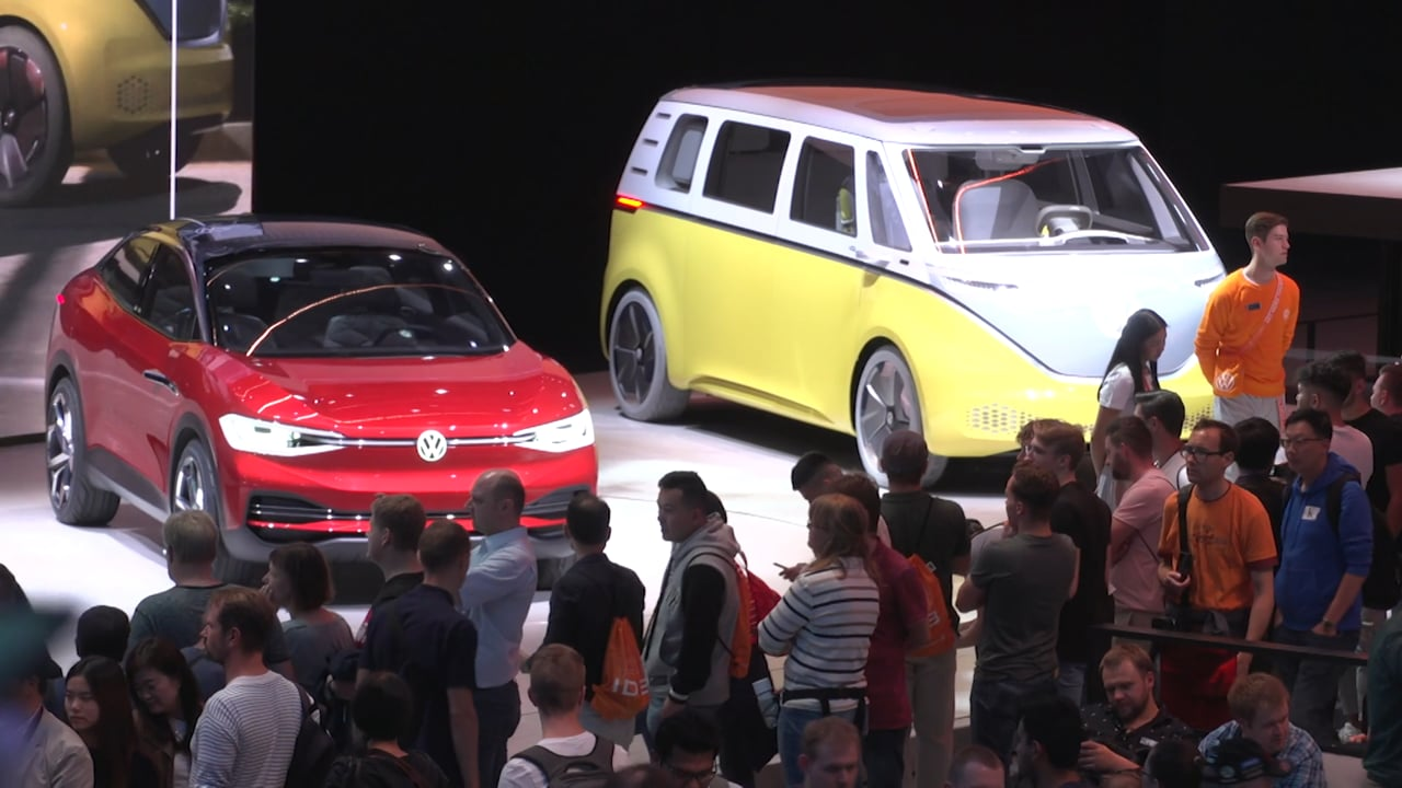 CGTN 2019 - Frankfurt Motor Show - Electric Cars Are the Headline Act