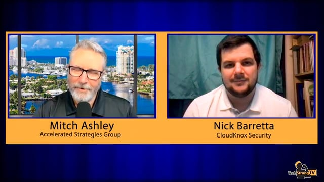 Nick Barretta - Cloud and Permission Management -TechStrong TV