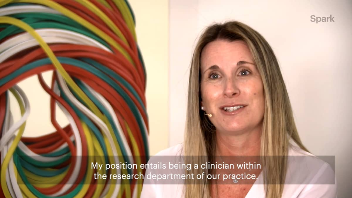 Melissa details her responsibilities as a dedicated Medical Aesthetics Clinical Researcher.