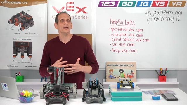 VEX robotics continuum for grades K – 12+