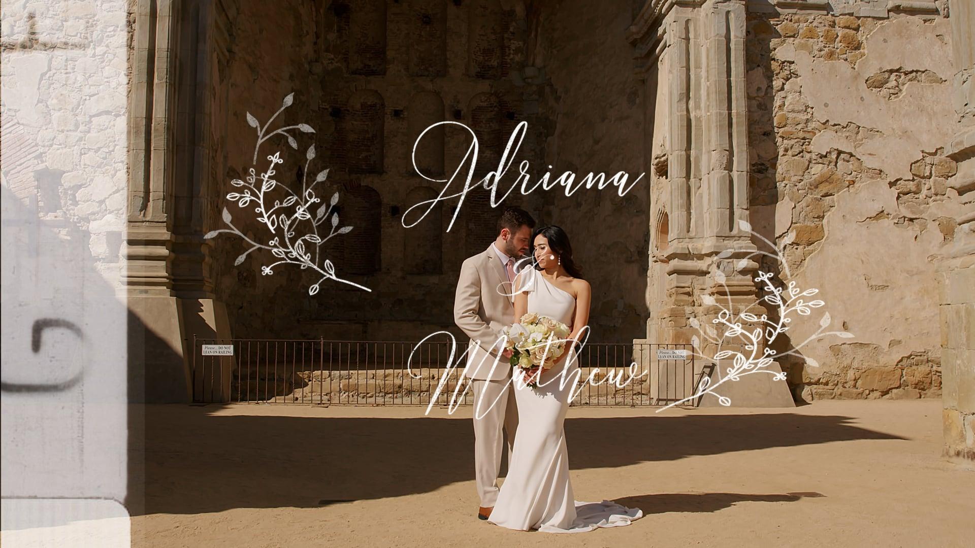 Adriana & Mathew