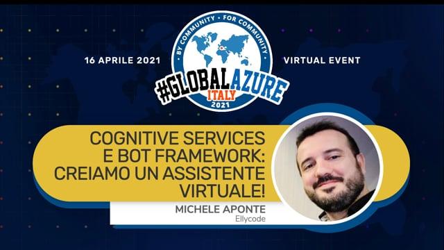 Cognitive Services e Bot Framework: creiamo un assistente virtuale!