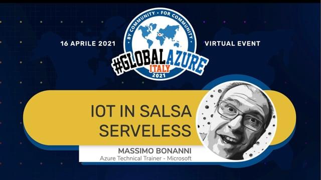 IoT in salsa Serveless